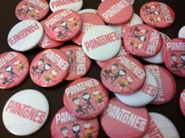 Pantones Pins