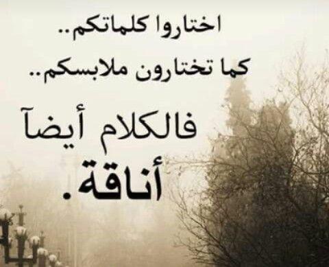 الكلام أيضا أناقة Quotations Beautiful Quotes Arabic Quotes