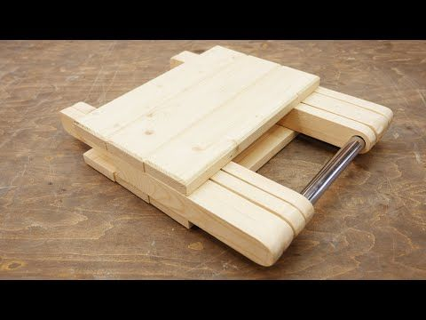 Cool Idea Don T Throw Away Pieces Of Wood Youtube Woodworking Woodworking Projects Diy Wooden Folding Chairs