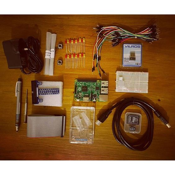 Something we loved from Instagram! Getting a tad overexcited about my rasberry pi starter kit coming through the post #raspberrypi #diy #gonnaelectricutemyself by bhattman Check us out http://bit.ly/1KyLetq