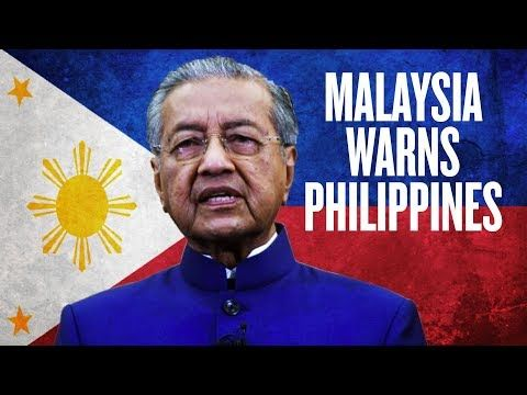 Malaysia Warns Philippines Over China Debt Mahathir Mohamad Warns Duterte About Ccp Loans Youtube In 2020 Philippines Malaysia Mahathir Mohamad