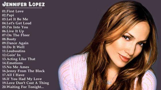 Jennifer Lopez's Greatest Hits    Best Song Of Jennifer Lopez HD/DVD