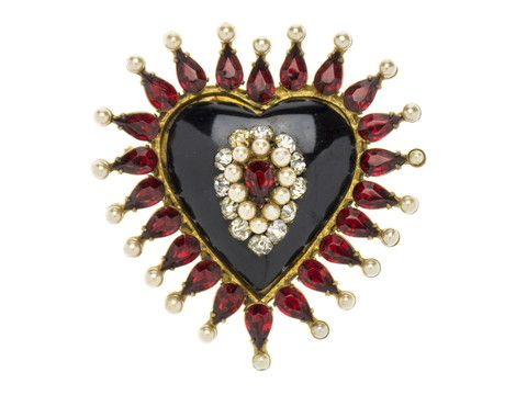 CHANEL EARLY VINTAGE 1920'S BROOCH