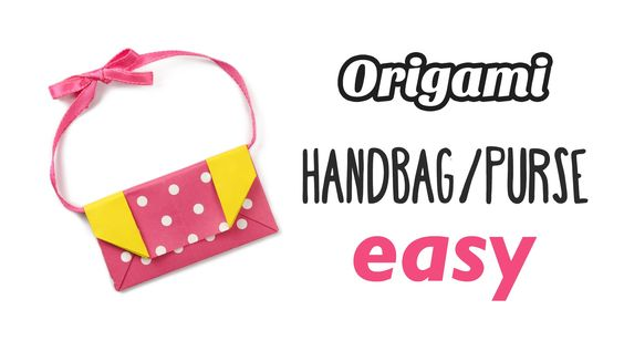 Learn how to make a cute and simple traditional origami handbag or learn how to make a cute and simple traditional origami handbag or purse easy to make using 1 sheet of square paper this little origami bag would sciox Choice Image