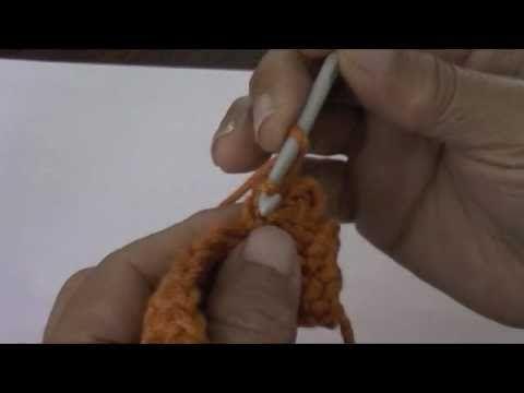 Crochet: punto picot o piquito cerrado