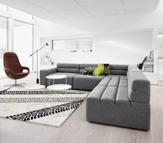 einrichtung wohnzimmer moderne wohnzimmereinrichtung 6 | comimovel ...