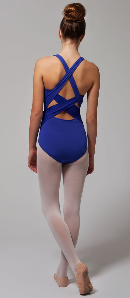 stay cool while you flow through your choreography. | Flow With Elegance Leotard