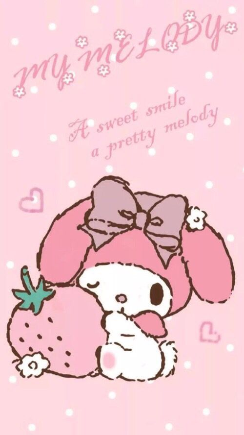 Pin By Rose Gold On Sanrio Melody Hello Kitty My Melody