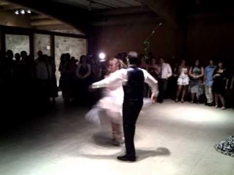 El mejor baile de boda  que he visto