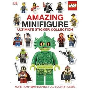 Lego Amazing Minifigure Ultimate Sticker Collection (Paperback) : Target