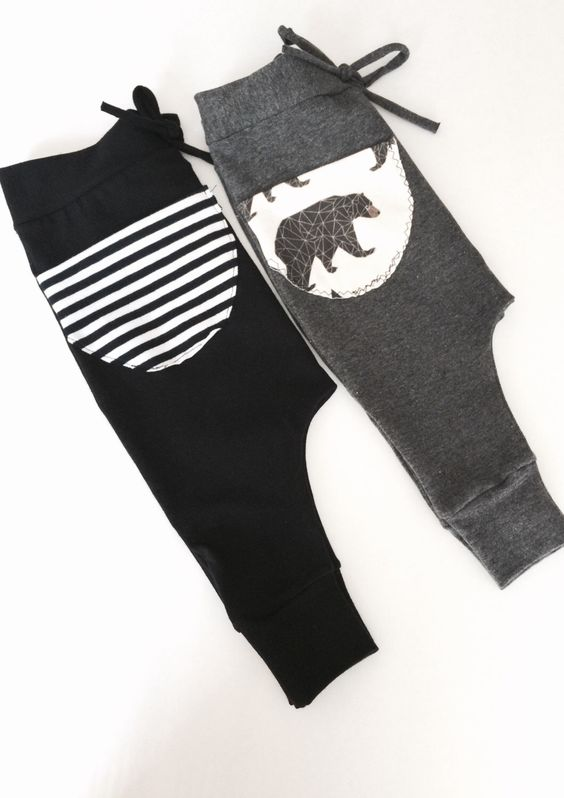 baby clothes, baby girls clothes, harem pants,black and gray leggings, cotton pants, toddler pants,bear leggings, toddler clothes, by Kutikati on Etsy https://www.etsy.com/listing/245968842/baby-clothes-baby-girls-clothes-harem