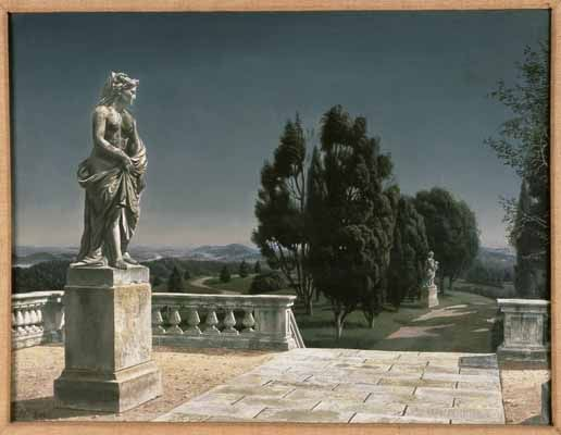 """Melpomene"", 1945 / Carel Willink (1900-1983) / Collection mr. C.J.A. de Ranitz, Driebergen, The Netherlands"