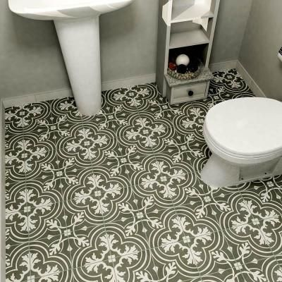 Merola tile twenties classic 7 3 4 in x 7 3 4 in ceramic for Classic kitchen floor tile