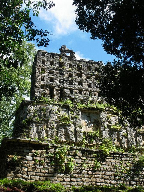 Zona Arqueológica de Yaxchilán, Chiapas, México