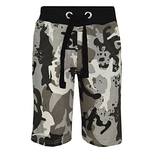 Kids Girls Baby Pink Camouflage Chino Shorts Knee Length Half Pant New 5-13 Year