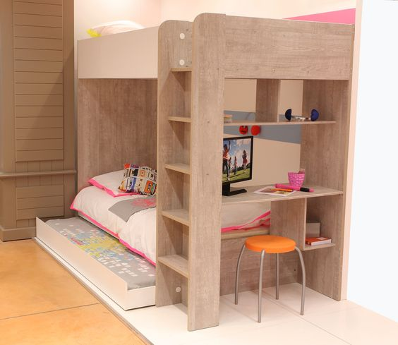 Lits superpos s serenity lits lits superpos s serenity sur meubles and co - Lit superposes enfants ...