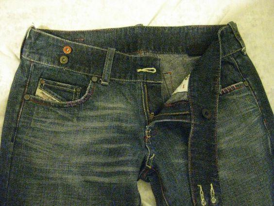 womens diesel cherone jeans 85e 28x32 #DIESEL #BootCut