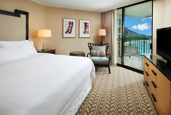 Tower Ocean Suite - Bedroom