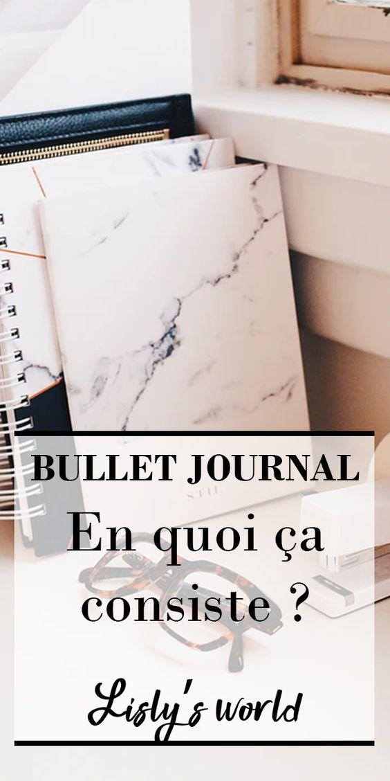 Le Bullet Journal, qu'est-ce que c'est ?