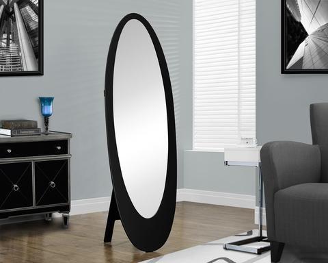 Monarch Oval Mirror Black Cheval Mirror Oval Mirror Decor