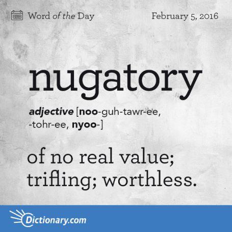 nugatory