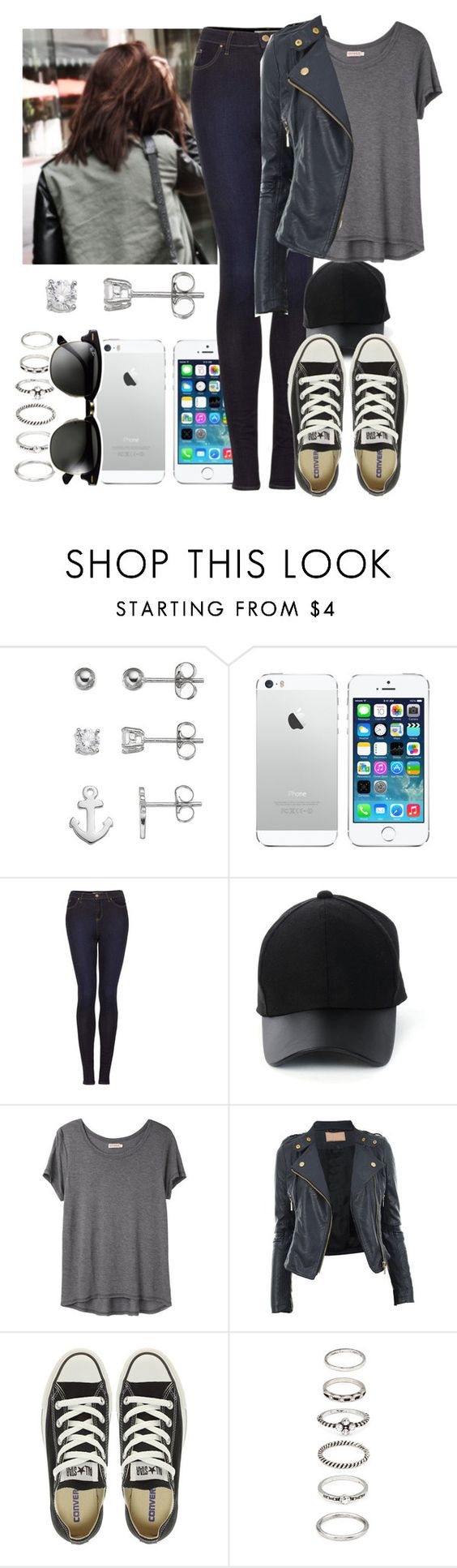 """Sem título #1216"" by esther-rosa ❤ liked on Polyvore featuring Topshop, Amiee Lynn, Organic by John Patrick, Converse, Forever 21 and Ray-Ban"