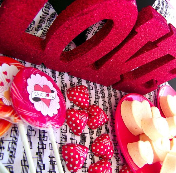 Love Rocks Valentines Party