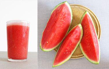 Gruß aus der Küche: Der köstlichste Wassermelonen-Smoothie