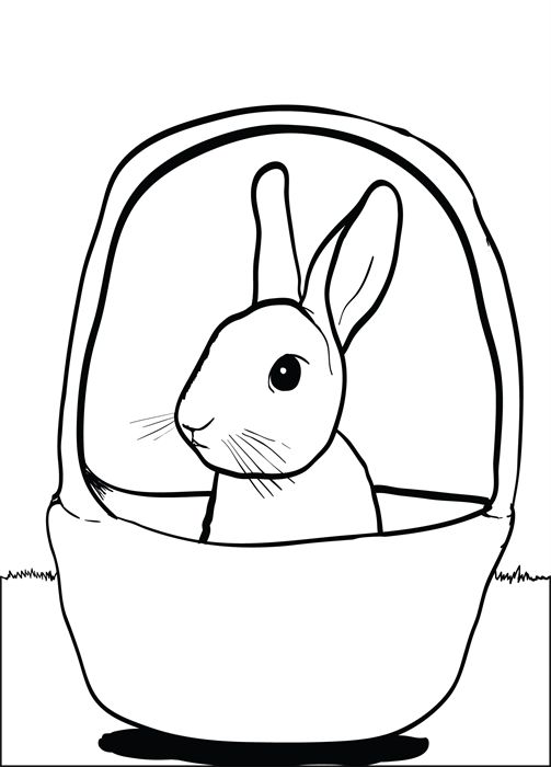 small easter coloring pages - photo#23