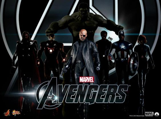 Nick Fury and the Avengers.