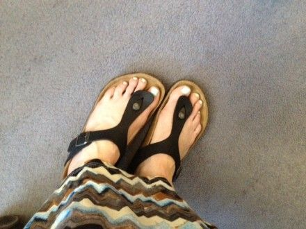 birkenstock womens gizeh oiled leather sandal