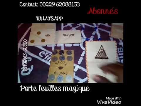 Porte Feuille Magique Du Secte Oluwu Cards Playing Cards