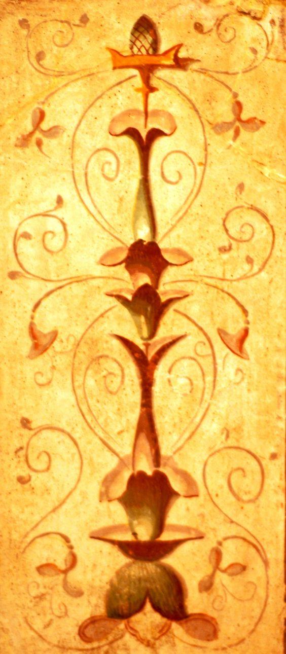 Enchanting Roman Wall Art Decor Illustration - Wall Painting Ideas ...