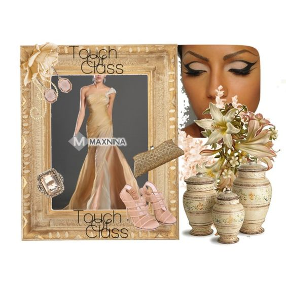 Evening Dress by joumana-diab-taha on Polyvore