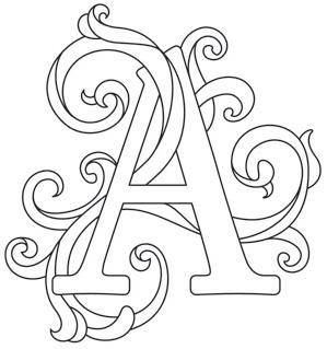 Letter Perfect alphabet - gorgeous letters, all different ...