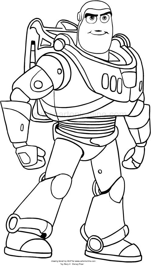 Buzz Lightyear Dibujo Toy Story Coloring Pages Disney Coloring Pages Toy Story Crafts