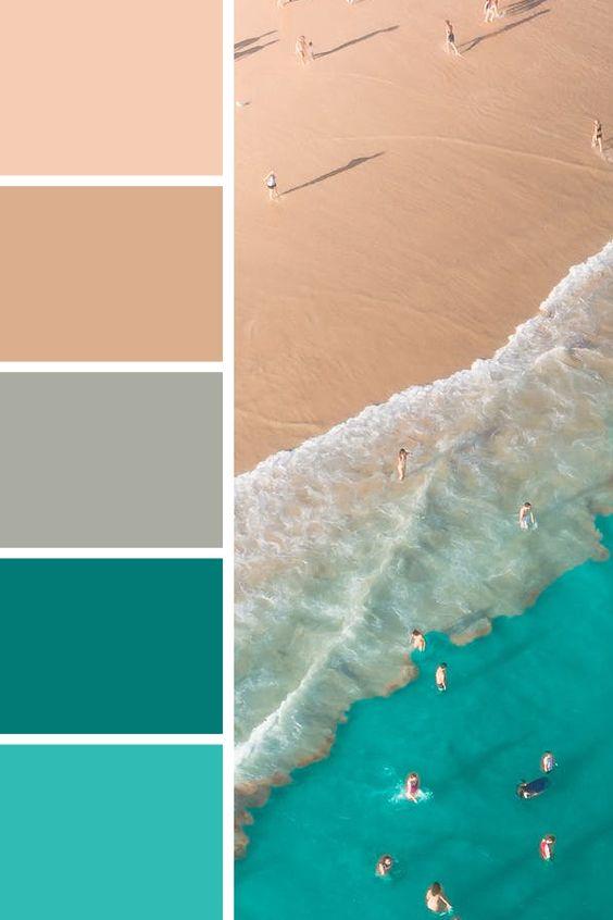 رنگهای مکمل رنگ آبی-خانومی