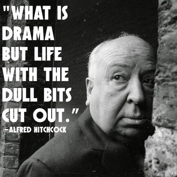''what is drama but life with It's easy to get wrapped up in the small annoyances of everyday life, but there's no reason that you should let a spilled morning coffee or commuter traffic ruin.