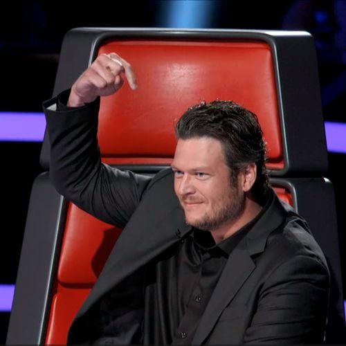 Blake on the Voice, and Blake singing.  Anything Blake actually.