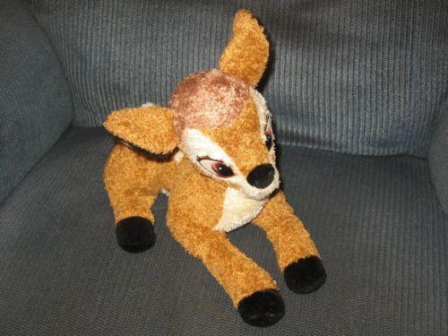 Disney store bambi deer plush soft stuffed animal