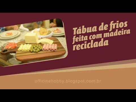 Tábua de frios - Marchetaria - YouTube