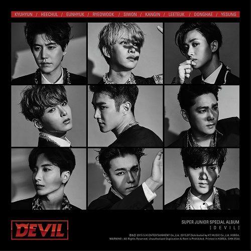 SUPER JUNIOR – DEVIL – Special Album Part. 1