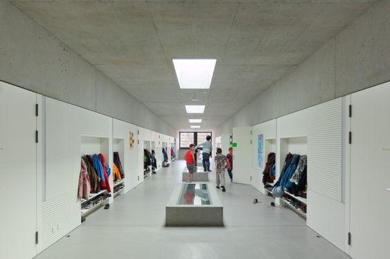 Classroom Extension and Sports Hall / Zwimpfer Partner Architekten + Berrel Berrel Kräutler Architekten