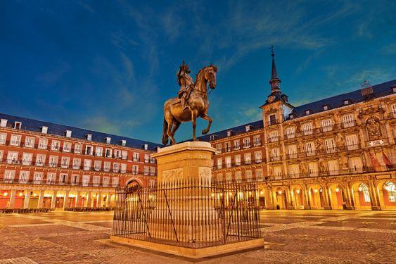 La Plaza Mayor de Madrid. S. XVI