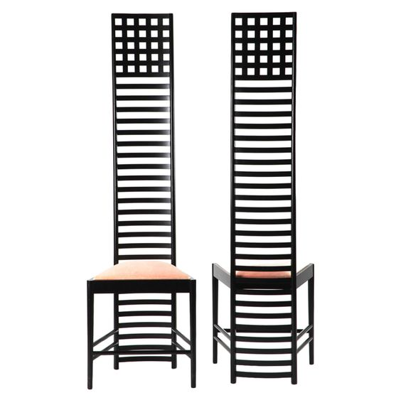 Chairs Charles Rennie Mackintosh And House On Pinterest