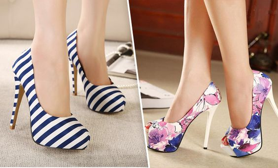Awesome 50 High Fashion High Heels on the Street in 2015