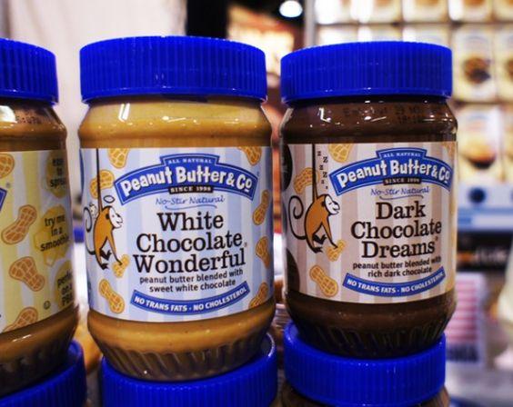 Peanut Butter & Co. -- White Chocolate and Dark Chocolate Wonderful