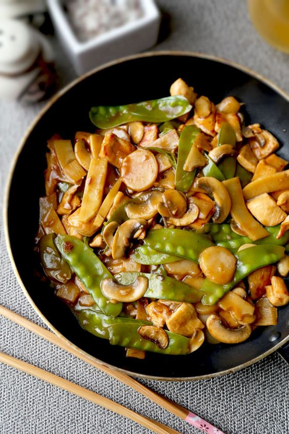 Better than takeout moo goo gai pan recipe that's savory and a little ...