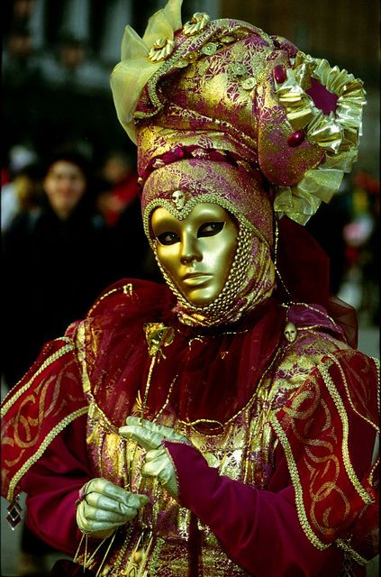 Venice carnival, Italy -- So arty and rich!