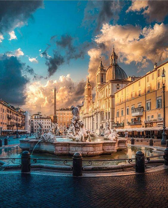 П'яцца Навона, Рим, Італія
